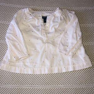 Baby Gap baby girl blouse